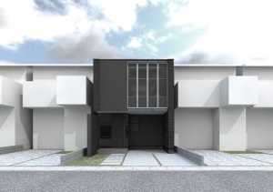 間口4.5mの家
